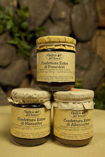 Confettura Extra di Albicocche - Ciliege Marasche - Pomodori