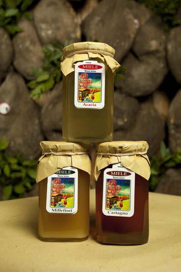 Miele Millefiori - di Castagno - di Acacia